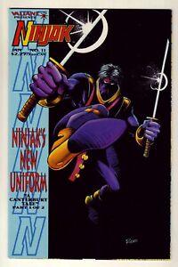 Ninjak #11 - January 1995 Valiant - Colin King as Ninjak - Near Mint (9.4)