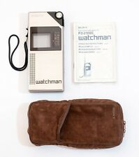 Vintage Sony Watchman Minature TV FD 210 BE