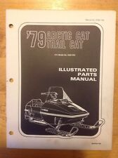Arctic Cat Snowmobile Parts Book Manual 1979 Trail Cat