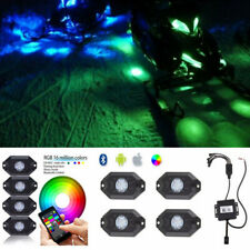 LED Rock Lights (RGB) Music Wireless Bluetooth Control For Arctic Cat Snowmobile
