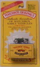 MJ7 Matchbox - 1993 Matchbox Originals - No.12 Land Rover - Green