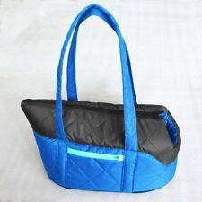 sac transport bleu pour petit et moyen chien, chat