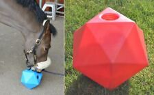 "Equine Horse and Pony Treat Snack Ball. 9"" (6 litre) Feeder RED *New*"