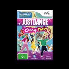 Kids Dancing party game Nintendo Wii NEW & AUSSIE! Ariel Mermaid Jungle Book DVD