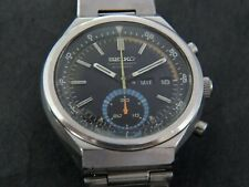 VTGE RARE SEIKO 6139 7060 FLYBACK DIVER CHRONOGRAPH. ALL ORIGINAL.1974. SERVICED