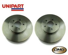Pair of Front Brake Discs Ford Mondeo MK3 (2001-2007) 300mm UNIPART GBD1239