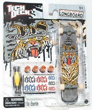 TECH DECK LONGBOARD Fingerboard SKATEBOARD SOS w STICKERS C NEW