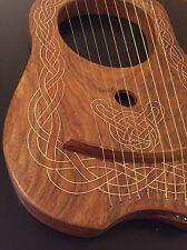 ARPA CELTICA LYRE 10 stringhe di metallo legno massello finitura naturale.