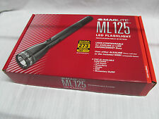 ML125 MagLite LED Flashlight Rechargeable System 120V ML125-33014 EB0903