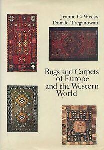 European American Rugs Carpets incl. Spain France UK Scandinavia Greece / Book
