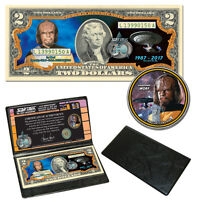 Star Trek: The Next Generation Coin & Currency Collection  - Lieutennant Worf