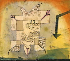 Paul Klee Reproduction: Falling Bird - Fine Art Print