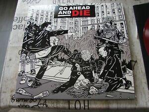 Go Ahead And Die - Same - Red/Clear Vinyl - LP - Death/Thrash Metal - Sepultura