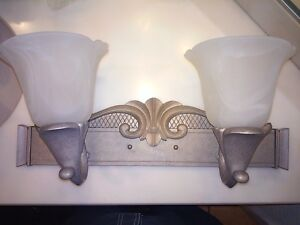 Glass Arts Crafts Mission Style Vanity Lighting Wall Fixtures For Sale In Stock Ebay