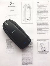 Mercedes-Benz Bluetooth Adapter Dongle Puck Interface for iPhone 5 6 SE 7 S OEM