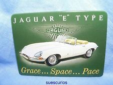 Jaguar E Type Vehicle Garage Advertising Magnet NEW Classic Car Present Gift