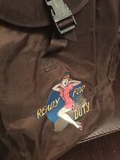 Seltene Breitling Rucksack Rucksack Tasche