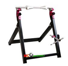 NEW MOTORCYCLE WHEEL BALANCER AND TRUING STAND MX STREET OFF ROAD