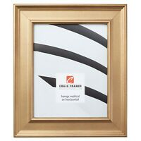 """Craig Frames Colonial, 2"""" Gold Picture Frame"""