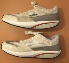 a57f514210d6 MBT Women s Moja Rocker Athletic Shoes 11M (Men s 9M) In White  Gray Mesh