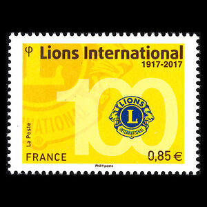 France 2017 - 100th Anniversary of Lions Clubs International - Sc 5240 MNH