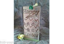 Happy Easter  Cut And Fold ....Book Folding PATTERN 459 Pages  Patter Only #464