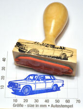 Volvo 144 berline Oldtimer (1973) comme belle cachet avec poignée en bois