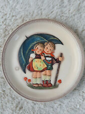 """1975 Goebel - Hummel First Edition 10"""" Anniversary Plate - """"Stormy Weather"""""""