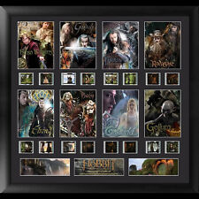 FILM CELLS The Hobbit An Unexpected Journey Character Montage Framed Display NEW