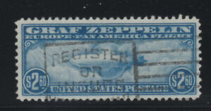 MOstamps - US #C15 Used Airmail Grade 80 with PSE cert - Lot # MO-2553 SMQ $600