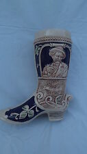 BOOT STEIN CERAMIC WEST GERMANY GERZ
