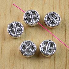 20pcs Tibetan Silver Round Spacer beads H0539