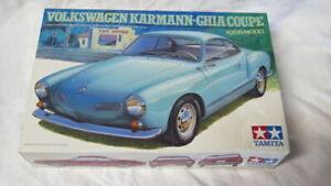 TAMIYA 1/24 VW KARMANN-GHIA COUPE 1966 Model FACTORY SEALED PARTS!