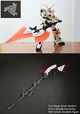EffectsWings Hyper Beam Javelin for Bandai 1/60 PG RX-0 Unicorn Gundam