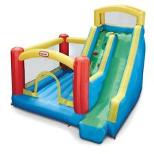Giant Inflatable Bounce House Kids Bouncing Climbing Wall Outdoor Slide Bouncer