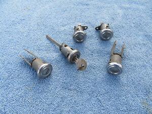 1955 1956 1957 Chevrolet Belair 210 Door Trunk Locks Originals