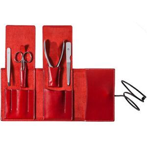 Suwada Nail & grooming care 4-piece set MIRROR(S) Nail clippers Nail file