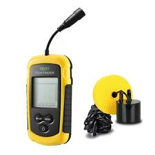 PORTABLE FISH FINDER SONAR DEPTH SOUNDER WITH ALARM