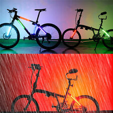 8 Modes Cycling Bike Bicycle 12 LED Night Safety Wheel Tire Spoke Light Strip