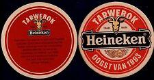 HEINEKEN  - TARWEBOK 1993  BEERCOASTER FROM THE NETHERLANDS FE15026
