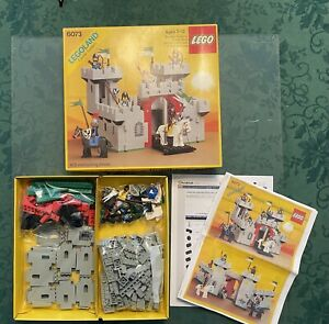 Classic LEGO 6073 Knight's Castle 100% Complete With Box