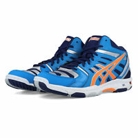 Asics Mens Gel-Beyond 4 MT Indoor Court Shoes Blue Sports Badminton Handball