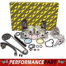 Fits 90-97 Nissan D21 Pick Up 2.4L Engine Rebuild Kit KA24E