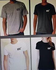 Mont Blanc logo design tshirt 100% cotton good qulity