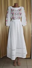 Ukrainian Embroidered dress Vyshyvanka embroidery Eco collection