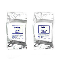 Lot (2) Dell Series 5 J4844 Photo Ink Cartridges for 922 924 942 944 946 962 964
