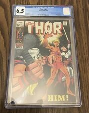 Thor #165, 1st Full App of Him / Warlock, White Pages 1969 CGC 6.5!!! (HOT KEY)