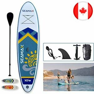 Seamax 10.8ft SeaDancer Inflatable SUP, 15PSI with Hot Welded Seam, Dimensions L