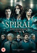Spiral: Series Six DVD (2018) Caroline Proust cert 15 3 discs ***NEW***