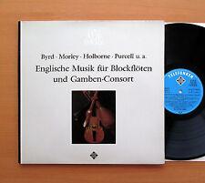English Music For Recorders 16th 17th Century - Telefunken SAWT 9511-B NEAR MINT